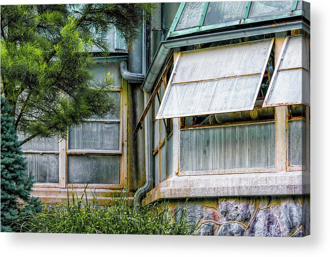 Acrylic Print featuring the photograph Lincoln Park Conservatory Dsc_7073 by Raymond Kunst