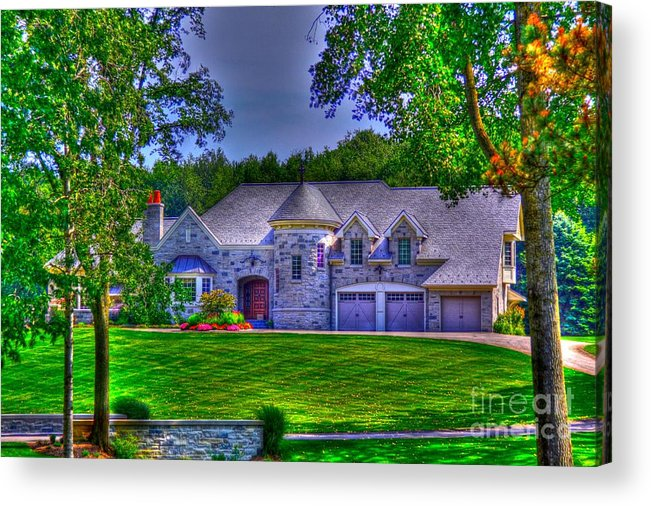 House Acrylic Print featuring the photograph Living The Dream by Robert Pearson