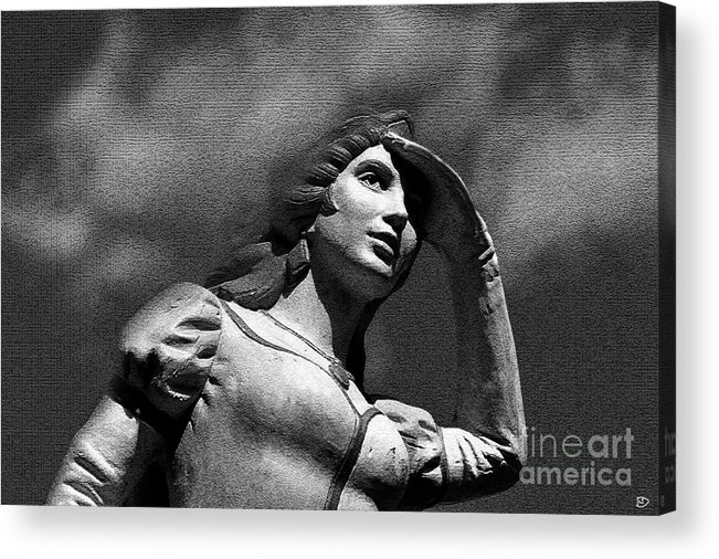 Love Acrylic Print featuring the painting Looking For Love by David Lee Thompson