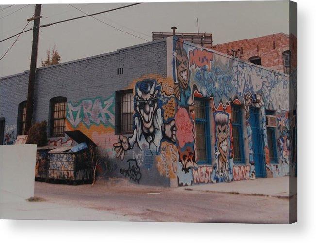 Urban Acrylic Print featuring the photograph Los Angeles Urban Art by Rob Hans