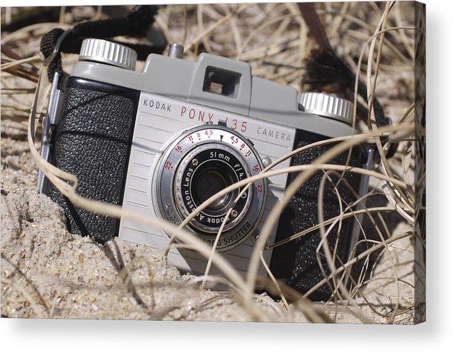Vintage Kodak Acrylic Print featuring the photograph Lost Pony by Mike McGlothlen