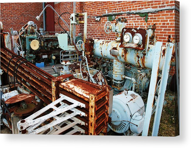 Machine Acrylic Print featuring the photograph Machine by Marcus Adkins