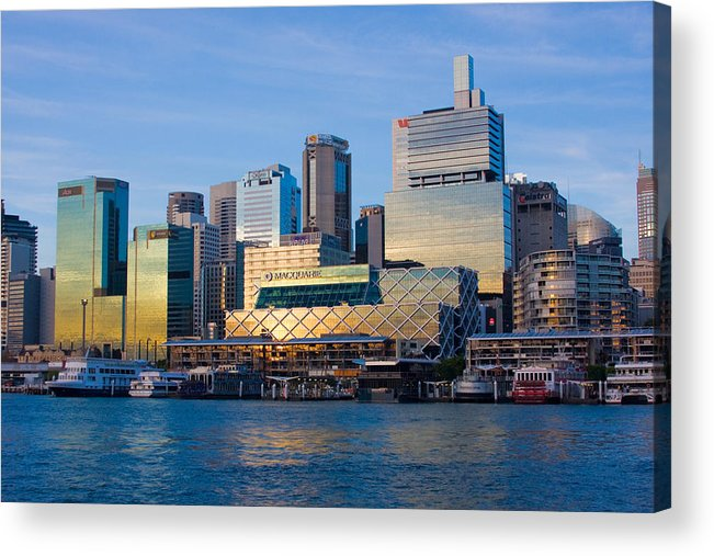 Sunset Acrylic Print featuring the photograph Macquarie Sunset by Charles Warren