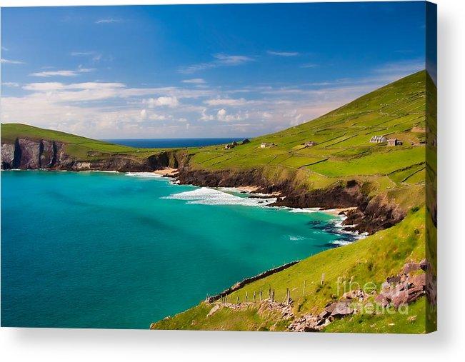 Ireland Acrylic Print featuring the photograph Magic Lands by Gabriela Insuratelu