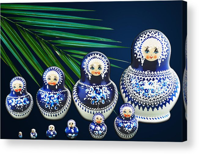 Garden Acrylic Print featuring the photograph Matreshka Doll by Svetlana Sewell