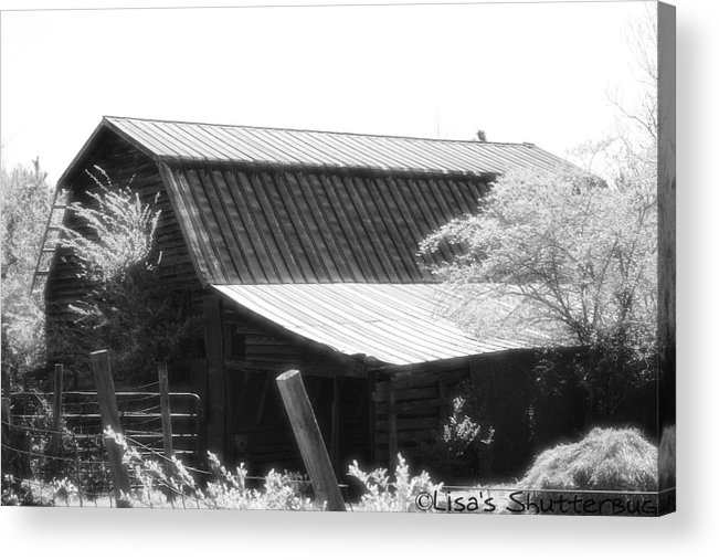 Barn Acrylic Print featuring the photograph Mcdonald 4 by Lisa Johnston