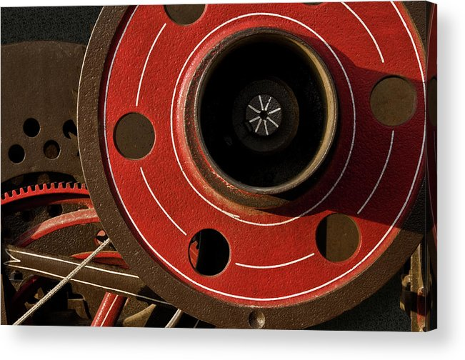 Machine Acrylic Print featuring the photograph Mechanical Depth by Murray Bloom