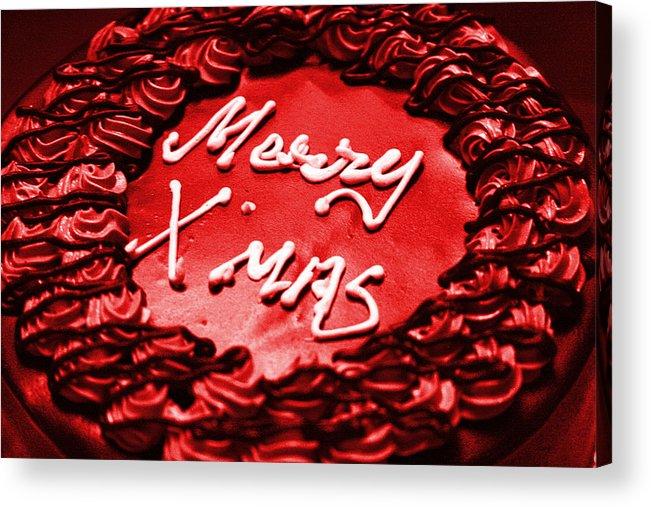 Sydney Alvares Acrylic Print featuring the photograph Merry Christmas by Sydney Alvares
