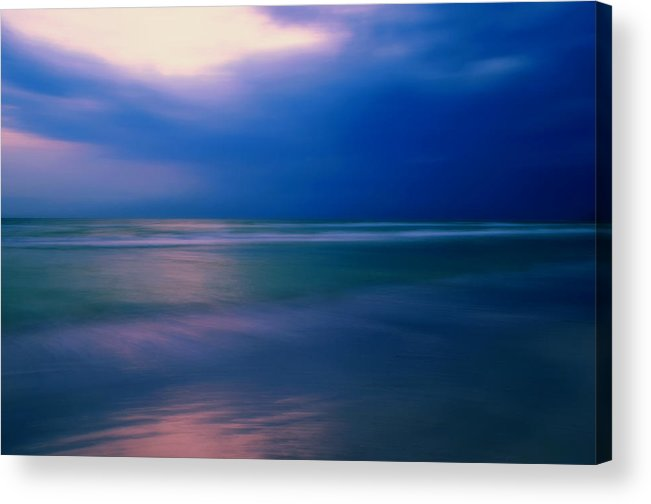 Art Acrylic Print featuring the photograph Milky Sea Goodnight by Jeremy Smith