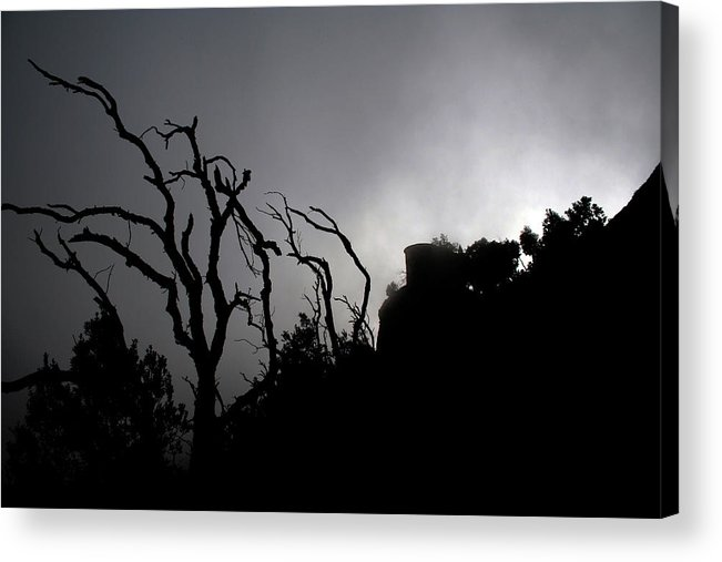 Montserrat Acrylic Print featuring the photograph Misty Montserrat by Jason Hochman