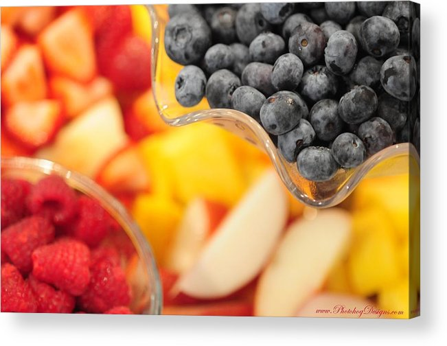 Fruit Acrylic Print featuring the photograph Mixed Fruit 6904 by PhotohogDesigns