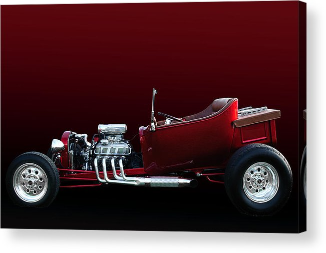 Model A Acrylic Print featuring the photograph Model A T-bucket by Jim Hatch