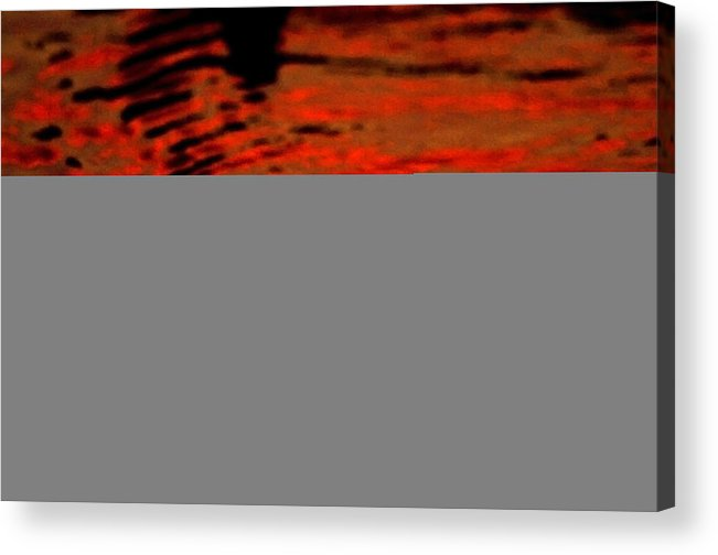 Water Acrylic Print featuring the photograph Molten Lava by Donna Blackhall