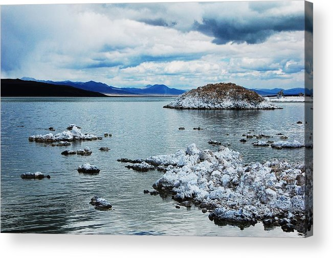 Mono Lake Acrylic Print featuring the photograph Mono by Jessica Roth
