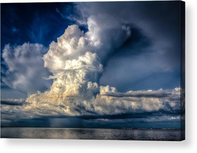 Florida Acrylic Print featuring the photograph Mothership Thunderstorm by Ronald Kotinsky