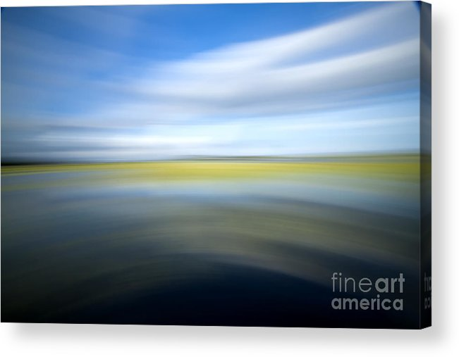 Camera Pan Acrylic Print featuring the photograph Motion Blur 2 by Dustin K Ryan