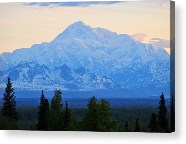 Mount Mckinley Acrylic Print featuring the photograph Mount Mckinley by Keith Gondron