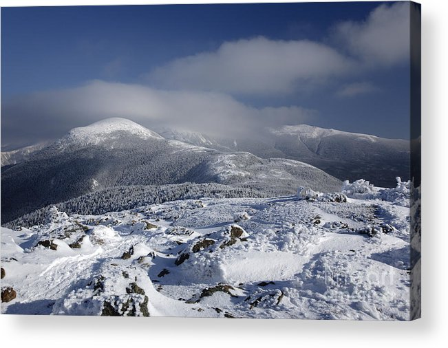 White Mountains Acrylic Print featuring the photograph Mount Washington - New Hampshire Usa by Erin Paul Donovan