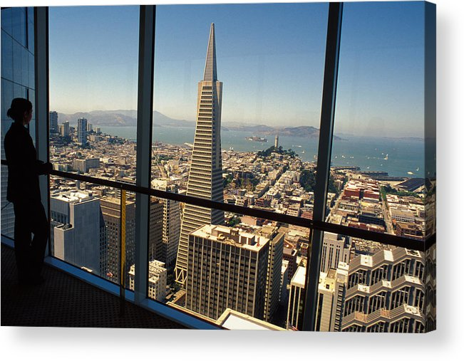 San Francisco Acrylic Print featuring the photograph My City On The Bay by Carl Purcell