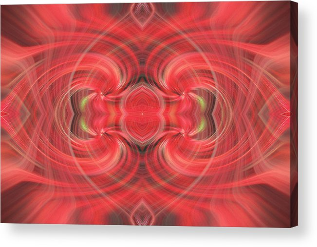 Abstract Acrylic Print featuring the photograph Mystic Love by Linda Phelps
