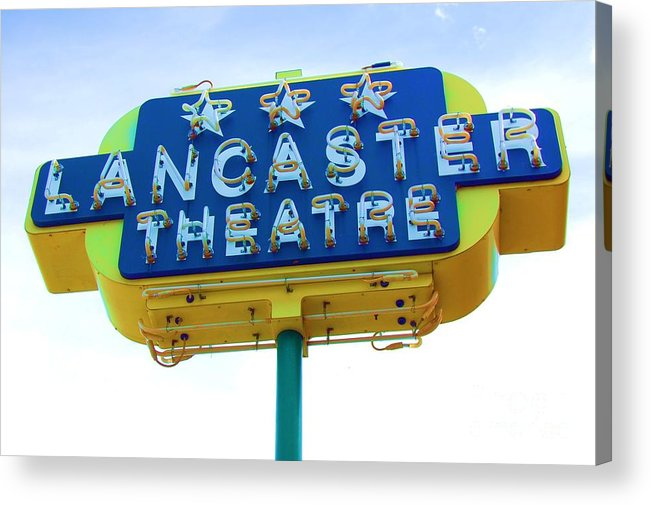 Sign Acrylic Print featuring the photograph Neon by Debbi Granruth