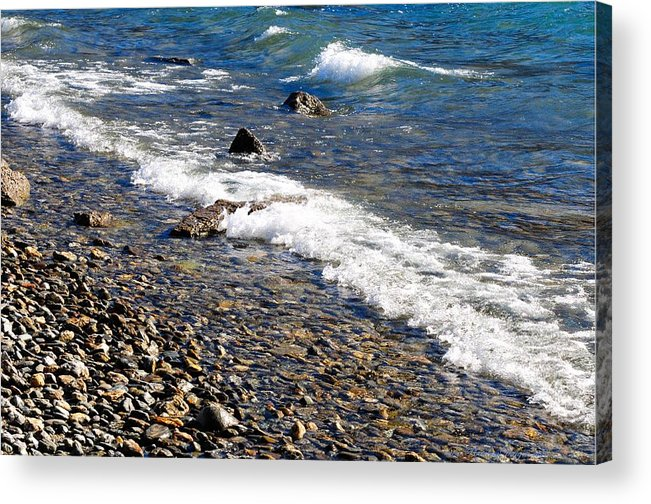 New Zealand Acrylic Print featuring the photograph New Zealand 3488 by PhotohogDesigns