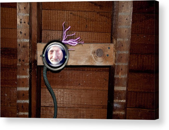 Electric Acrylic Print featuring the photograph No Getting Away by Ross Powell