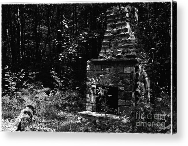Home Acrylic Print featuring the photograph Nobody Home by The Stone Age