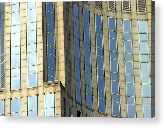 Nyc Acrylic Print featuring the photograph Nyc Architecture by Chuck Kuhn