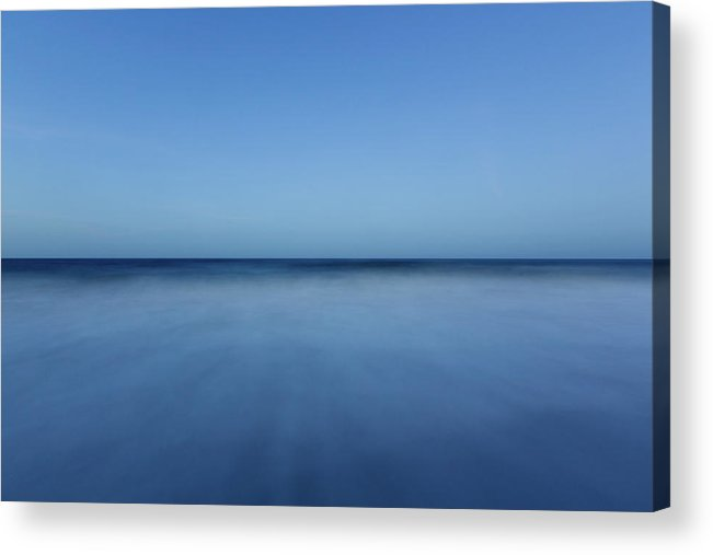 Ocean Acrylic Print featuring the photograph Ocean City Blue Number 1 by Chris Leary
