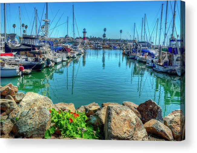 Seascape Acrylic Print featuring the photograph Oceanside Lighthouse by Stephen Campbell