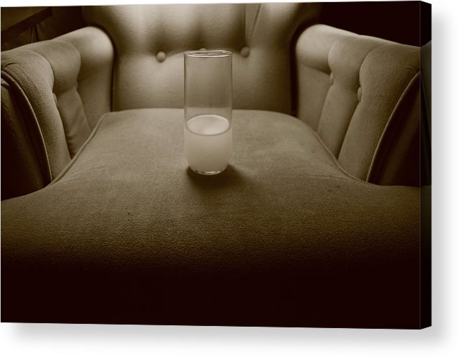 Orange Juice Acrylic Print featuring the photograph OJ by Hannah Van Patter