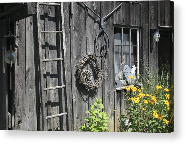 Barn Acrylic Print featuring the photograph Old Barn II by Margie Wildblood