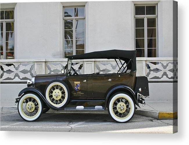 Classic Car Acrylic Print featuring the photograph Old Classic by Frank Russell