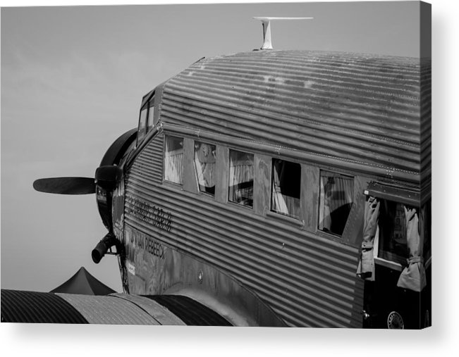 Aviation Acrylic Print featuring the photograph Ju52 by Garth Naude