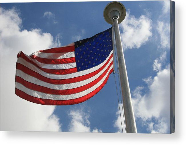 Flag Acrylic Print featuring the photograph Old Glory 2 by Bob Gardner