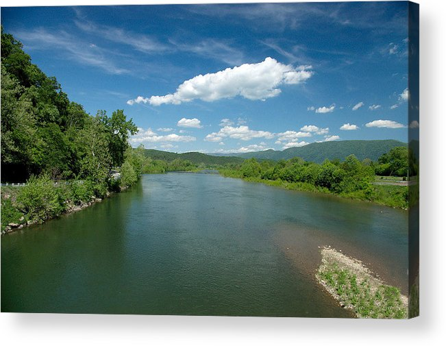 Landscape Acrylic Print featuring the photograph Old Man River by Steve Kenney