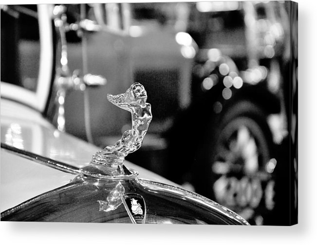 Hood Ornament Acrylic Print featuring the photograph Ornamental by Mandy Wilson