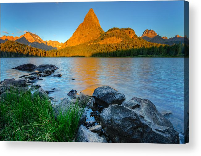 Angel Wing Acrylic Print featuring the photograph P I N N A C L E S 14031 by Philip Esterle