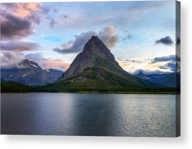 Angel Wing Acrylic Print featuring the photograph P R O M I N E N C E 13287 by Philip Esterle
