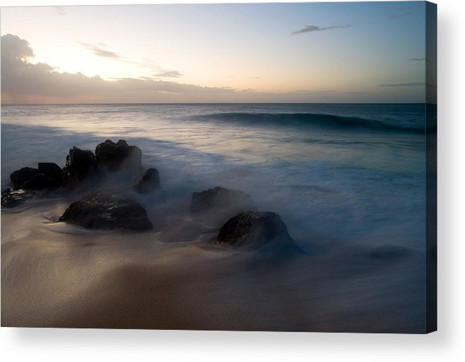 Ocean Acrylic Print featuring the photograph Pacific Ocean Power - Hawaii by Brad Rickerby
