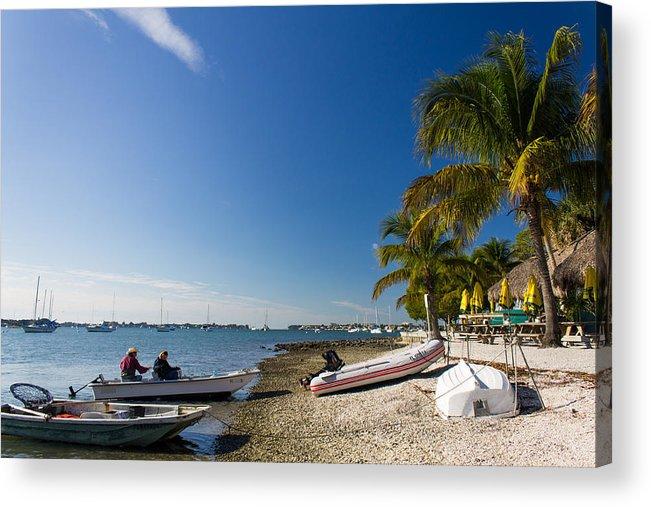 Marina Jacks Acrylic Print featuring the photograph Paradise by Michael Tesar