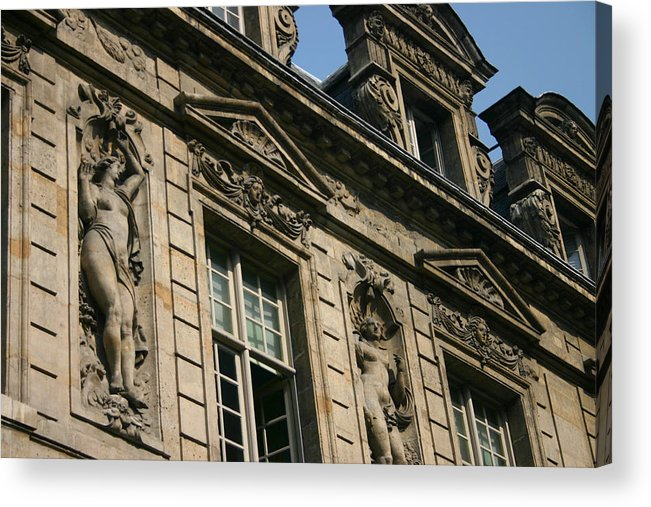 Acrylic Print featuring the photograph Paris - Architecture 2 by Jennifer McDuffie
