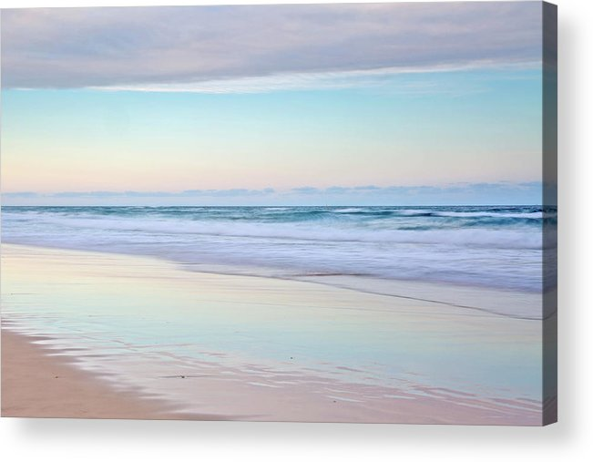 Australia Acrylic Print featuring the photograph Pastel Reflections by Az Jackson