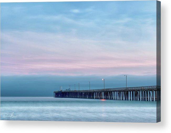 Sunset Acrylic Print featuring the photograph Pastel Sunset by David Bernal
