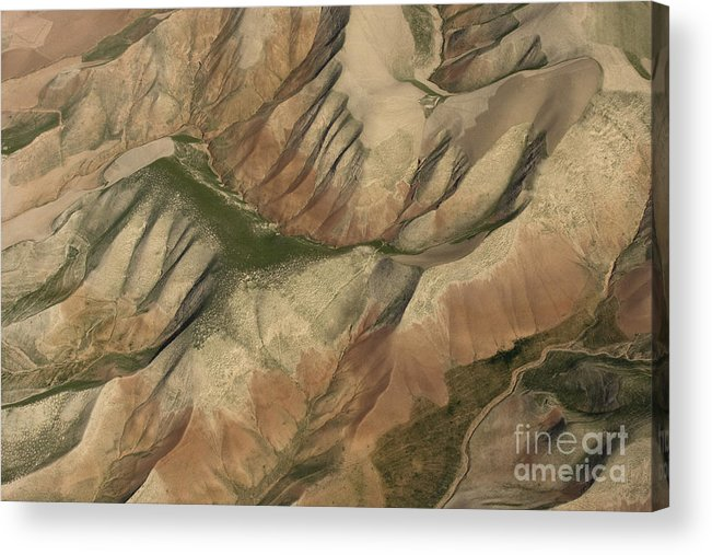Pasture Acrylic Print featuring the photograph Pastures And Valleys by Tim Grams