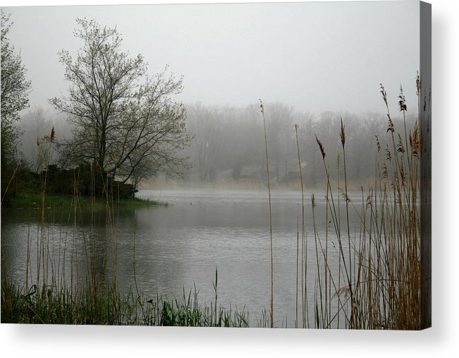 Landscape Acrylic Print featuring the photograph Peaceful Calm by Erika Lesnjak-Wenzel