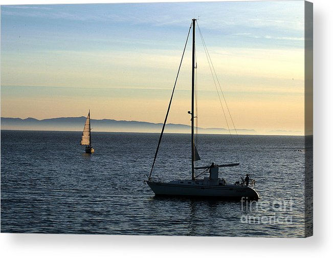 Clay Acrylic Print featuring the photograph Peaceful Day In Santa Barbara by Clayton Bruster