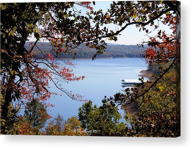 Beaver Lake Acrylic Print featuring the photograph Peek-a-view by Betty Northcutt