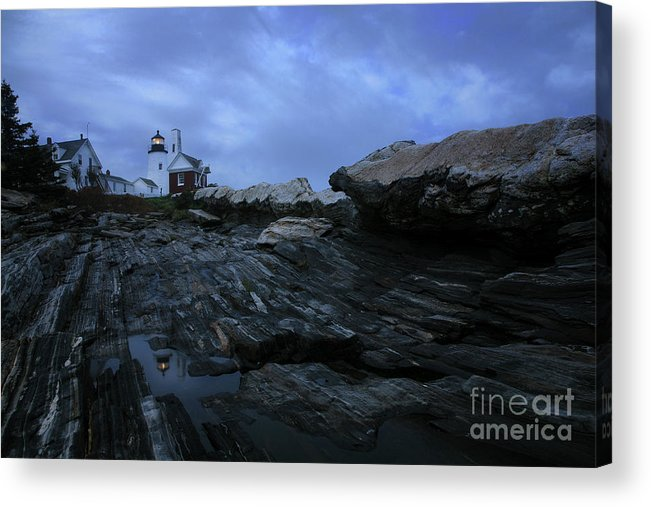 Pemaquid Acrylic Print featuring the photograph Pemaquid by Timothy Johnson